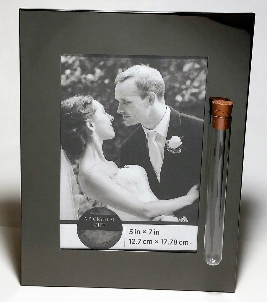 Modern, Sleek Jewish Wedding Picture Frame - Jewish Engagement Gift - Shards From Chuppah