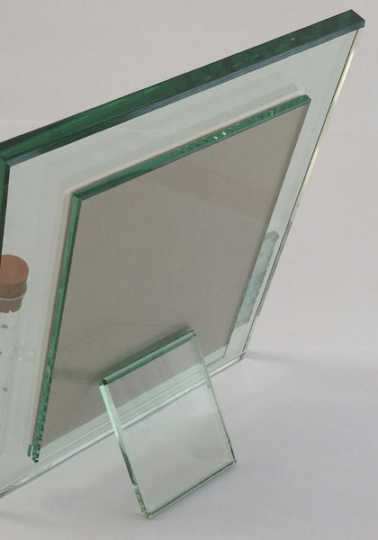Jewish Wedding Picture Frame - Thick Glass Frame - Holds Shards of Wedding Shards - Jerusalem