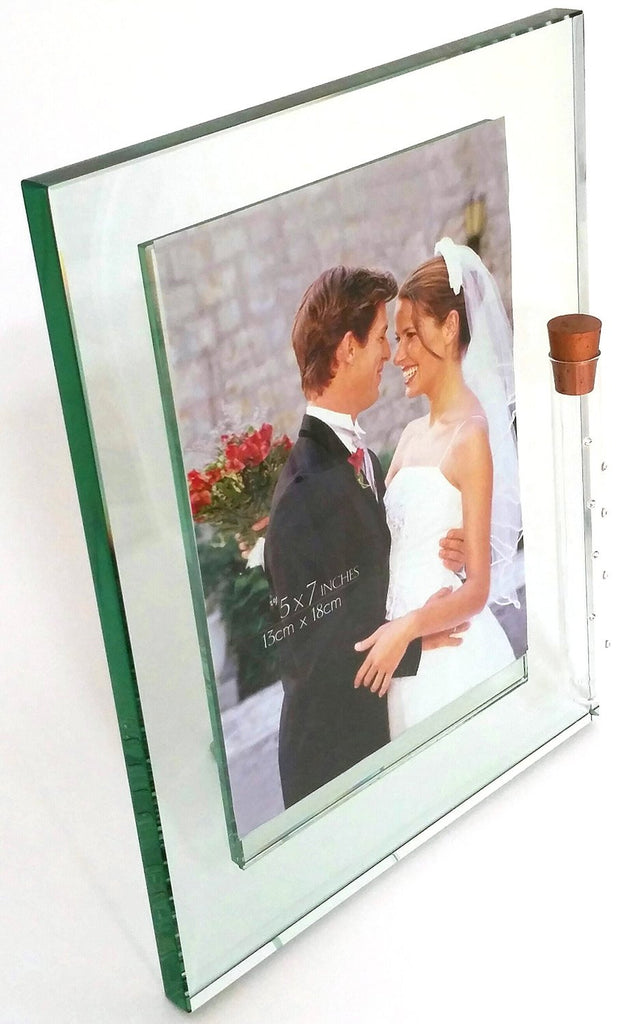 Jewish Wedding Picture Frame Holds Shards Of Glass Broken At