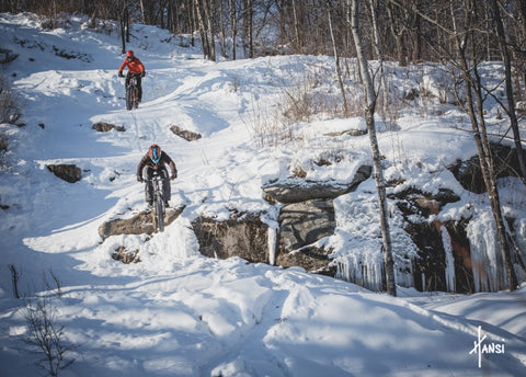 spirit mountain, duluth, winter fat biking