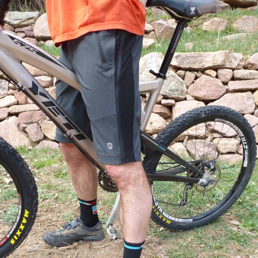 elevenpine men's crank it up mountain bike shorts