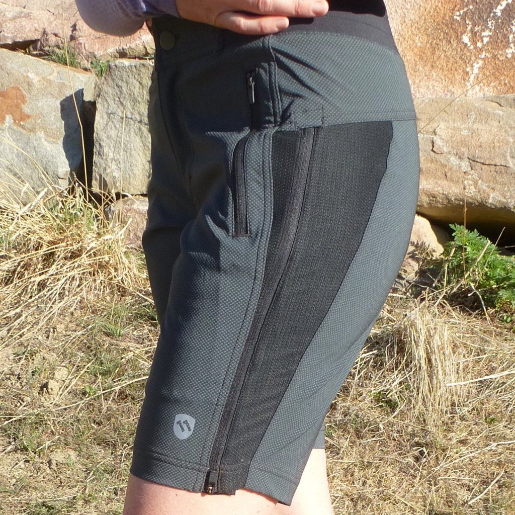 ElevenPine Women's Mountain Bike Shorts Zipped