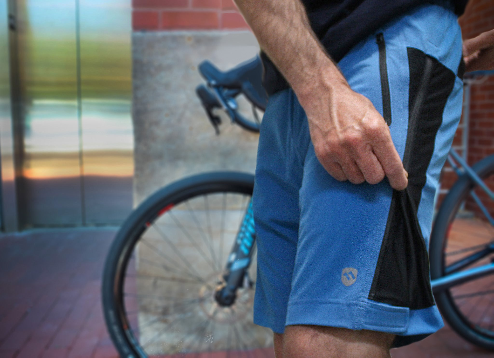 COMBO DEAL: Men's Centennial Blue Uprising Short & Liberator Liner