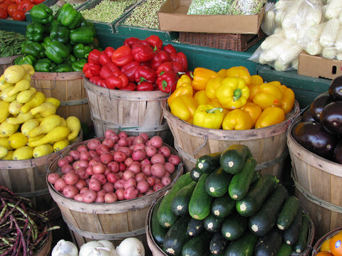 buy local fruit earth day vegetables