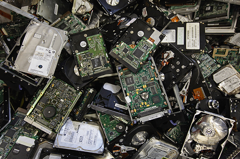 e waste electronic earth day