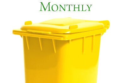 monthly cleaning service from bc bin wash