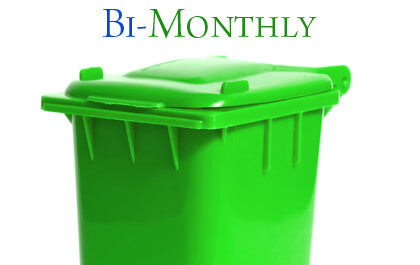 bimonthly garbage can cleaning
