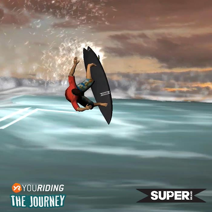 YouRiding The Journey Surf Video Game