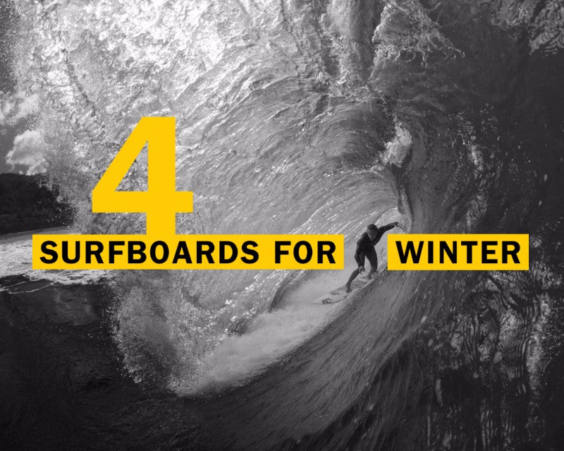 Four Superbrand Surfboards For Winter
