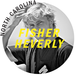 Fisher Heverly Super Brand Surf Team