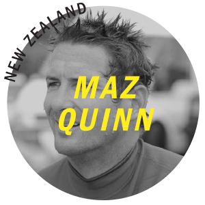 Maz Quinn Super Brand Surf Team