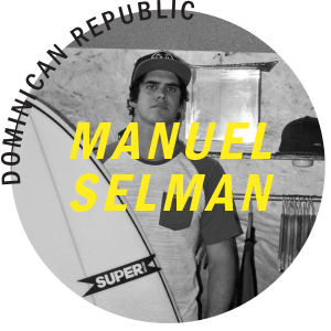 Manuel Selman Super Brand Surf Team
