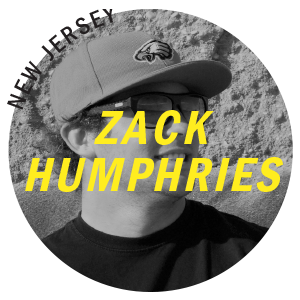 Zack Humphries Super Brand Surf Team