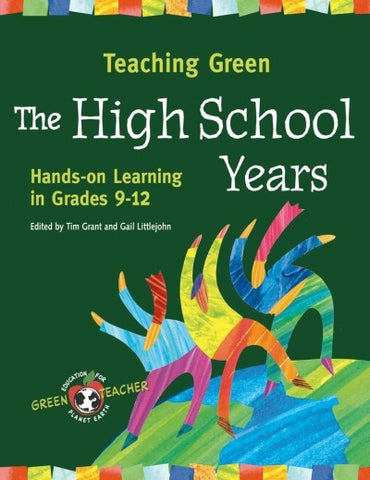 Teaching Green: The High School Years