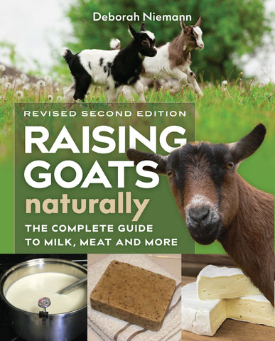 Raising Goats Naturally, 2nd Edition (EPUB)