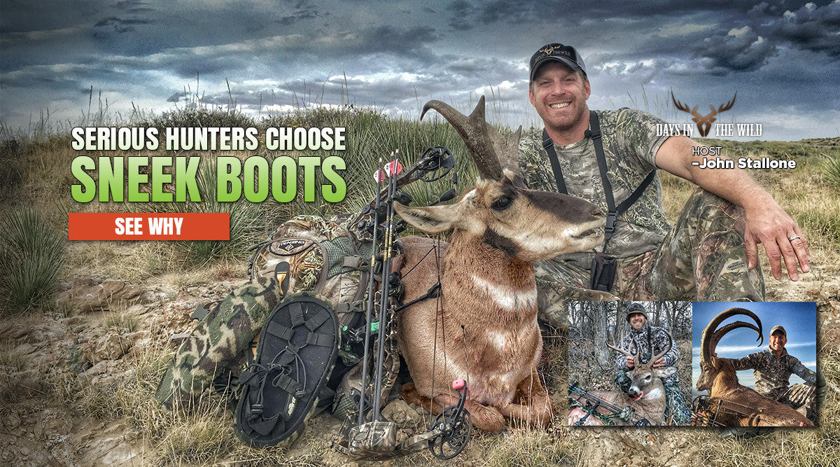 Serious Hunters Choose SneekBoots