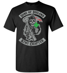 Sons of Ireland. Kiwi Chapter., Gildan Short-Sleeve T-Shirt