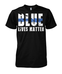 Blue Lives Matter Unisex Cotton Tee