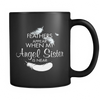 Angel Sister, Black 11oz Mug
