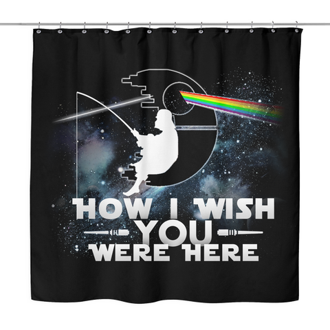 How I wish you were here., Shower Curtain