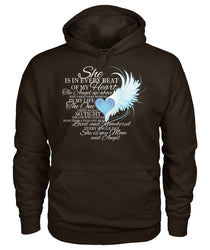 For my MOM in heaven Gildan Hoodie