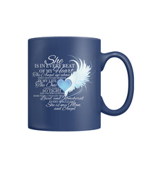 For my MOM in heaven Color Coffee Mug