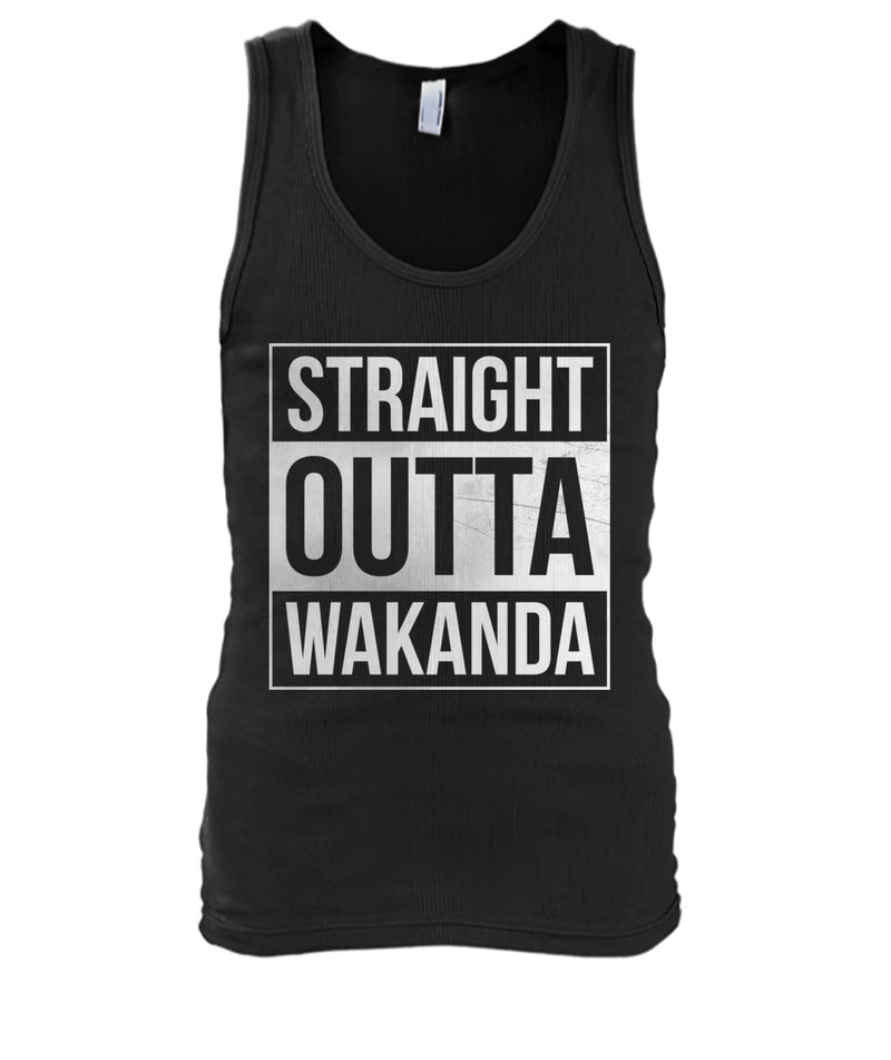 Black Panther - Straight Outta Wakanda Men's Tank Top