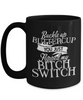 Buckle up, Buttercup, Breakfast Coffee Cup Mug, Mugs Glass