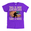 This is how Americans take a knee American Apparel Mens