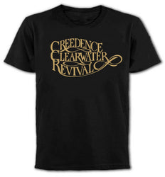 Rude Top Tee  Creedence Clearwater Revival Camiseta,Eeuu Southern Rock,Anos 1970, Men'S O-Neck Short Cotton Shirts