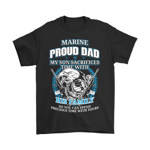 Marine Proud Dad