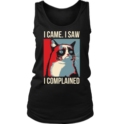 I came. I saw. I complained., District Womens Tank