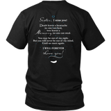Sister, I miss you., District Unisex Shirt