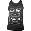 Best Dad., District Mens Tank