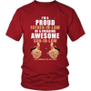 Father-in-law of a freaking awesome Son-in-law., District Unisex Shirt