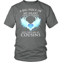 Cousins, A big piece of my heart lives in heaven.