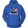 Ameowica the Great - Funny patriotic.,   Unisex Hoodie