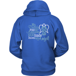 My Daddy was so amazing. God made him an angel., Unisex Hoodie