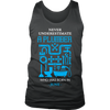 Never Underestimate a Plumber Who was born in June., District Mens Tank