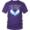 A Big Part of my heart lives in heaven., Gildan Unisex Shirt