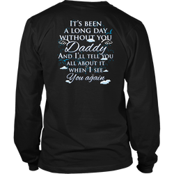 Daddy., District Long Sleeve Shirt