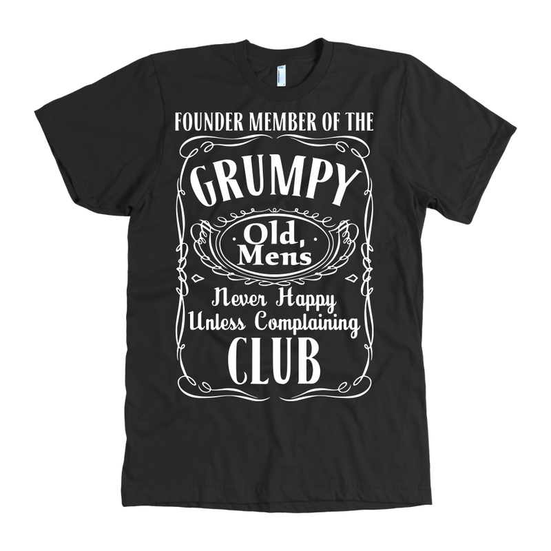 Founder member of the Grumpy Old mens. Never happy unless complaining.