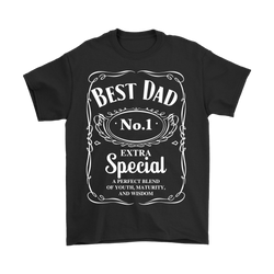 Best Dad. No.1, Extra Special, Gildan Mens T-Shirt