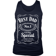 Best Dad. No.1, Extra Special, District Mens Tank