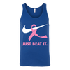Just Beat It., Canvas Unisex Tank