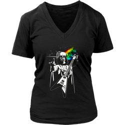 The Dark Side of the Death Star., District Womens V-Neck
