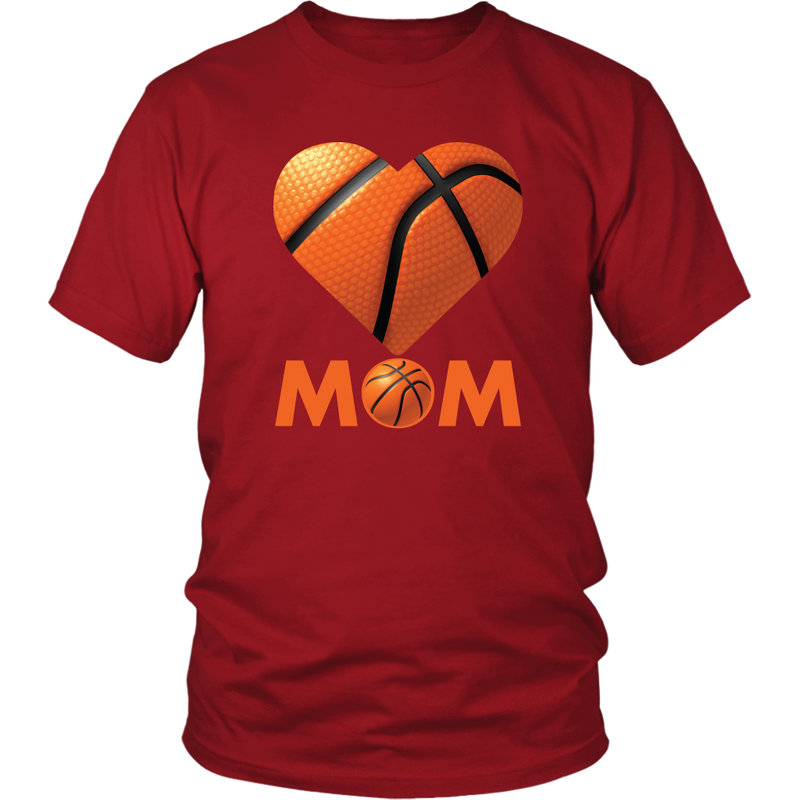 Basketball Mom shirt., District Unisex Shirt