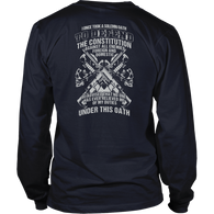 I once took a solemn oath to defend..., District Long Sleeve Shirt