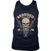 Bearded till I die., District Mens Tank