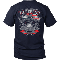 I once took a solemn oath., District Unisex Shirt